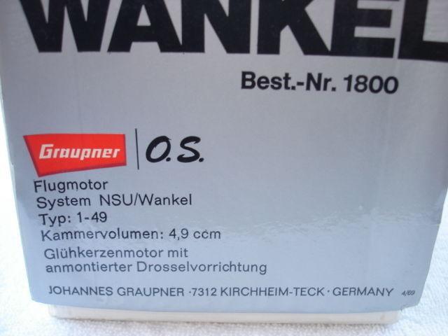 Graupner-O.S.-NSU-wankel-Best.-Nr.1800