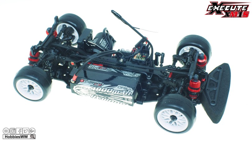 Xpress-Execute-XM1S-1-10-4WD-Mini-Touring-Car-Kit-EP-M-Chassis-210mm150
