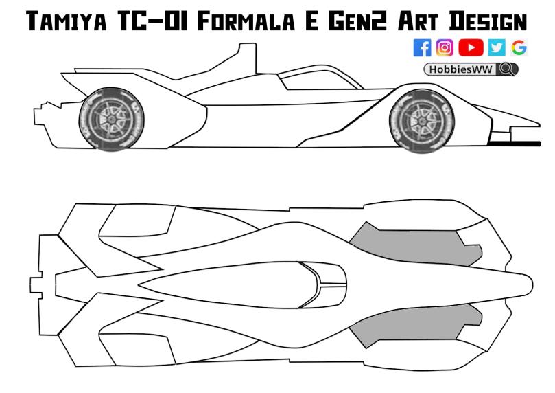 Tamiya TC-01 Formala E Gen2 Art Design_v2